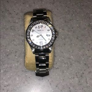 Invicta Pro Diver Silver Stainless Steel Watch